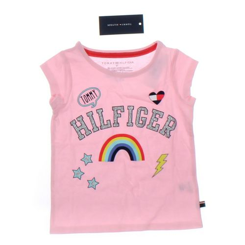 Tommy Hilfiger T-shirt in size 4/4T at up to 95% Off - Swap.com