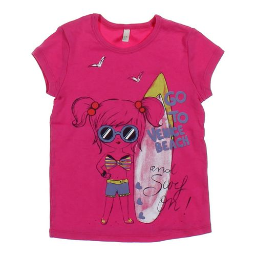 United Colors of Benetton T-shirt in size 4/4T at up to 95% Off - Swap.com