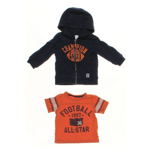 Carter's T-shirt & Hoodie Set in size 18 mo at up to 95% Off - Swap.com