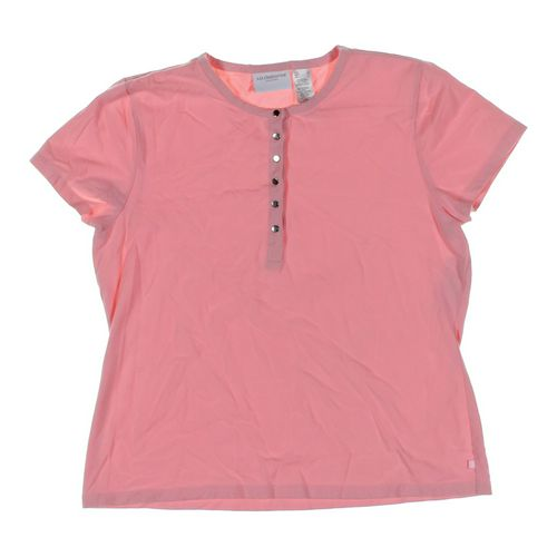 Liz Claiborne T-shirt in size L at up to 95% Off - Swap.com
