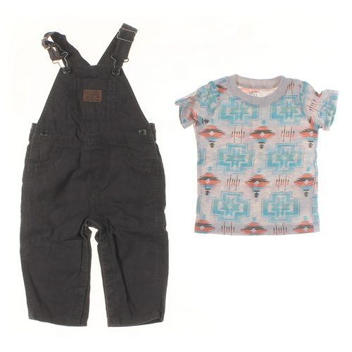 Carter's T-shirt & Overalls Set in size 12 mo at up to 95% Off - Swap.com