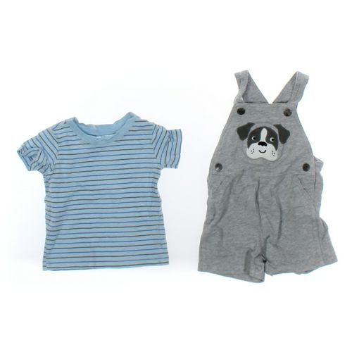 Carter's T-shirt & Overalls Set in size 9 mo at up to 95% Off - Swap.com