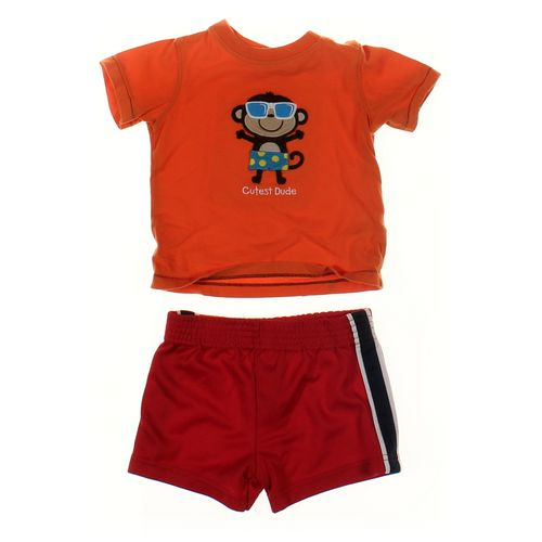 Carter's T-shirt & Shorts Set in size 12 mo at up to 95% Off - Swap.com