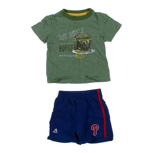 Cherokee T-shirt & Shorts Set in size 18 mo at up to 95% Off - Swap.com