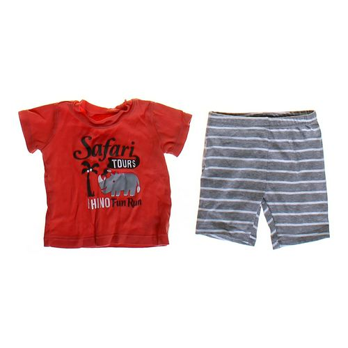 Carter's T-shirt & Shorts Set in size 6 mo at up to 95% Off - Swap.com