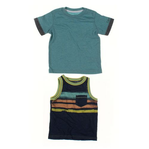 Calvin Klein T-shirt & Tank Top Set in size 18 mo at up to 95% Off - Swap.com