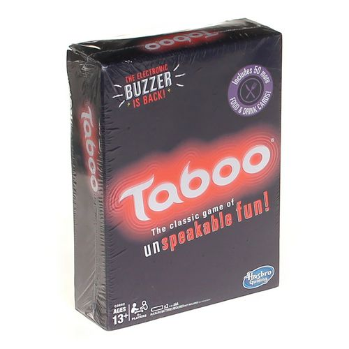 Hasbro Taboo at up to 95% Off - Swap.com