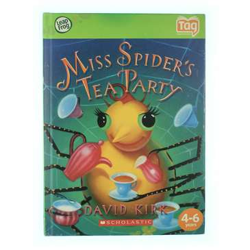 Tag Book: Miss Spider's Tea Party for Sale on Swap.com