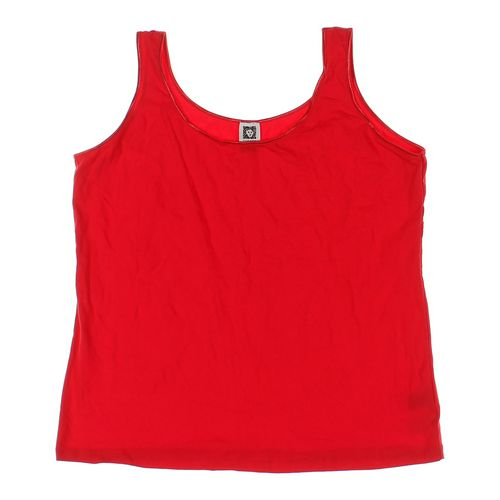 Anne Klein Tank Top in size 2X at up to 95% Off - Swap.com