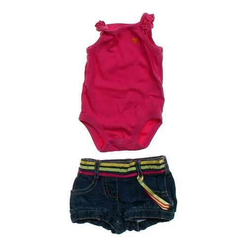 Carter's Tank Top Bodysuit & Denim Shorts in size NB at up to 95% Off - Swap.com