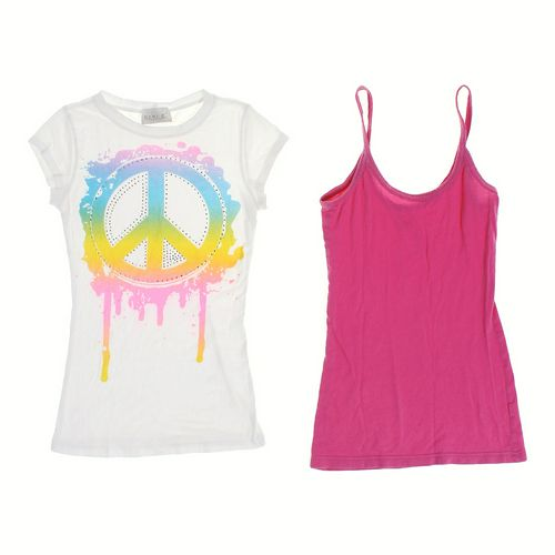 Op Tank Top & Peace T-shirt in size JR 3 at up to 95% Off - Swap.com