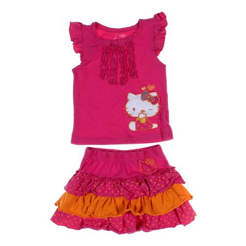 Hello Kitty Tank Top & Skirt Set in size 2/2T at up to 95% Off - Swap.com