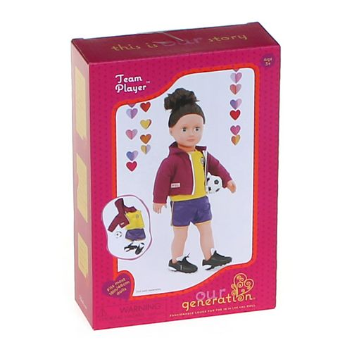 Our Generation Team Player Doll Accessories at up to 95% Off - Swap.com