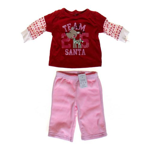 "Just One You ""Team Santa"" Outfit in size 3 mo at up to 95% Off - Swap.com"