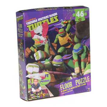 Teenage Mutant Ninja Turtles, 3 Foot Floor Puzzle Puzzle for Sale on Swap.com