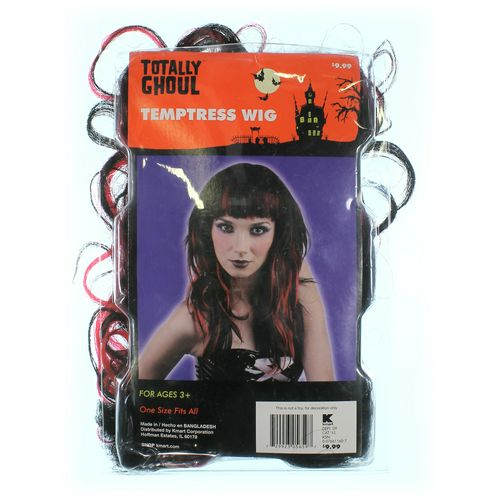 Totally Ghoul Temptress Wig Costume Accessory in size One Size at up to 95% Off - Swap.com