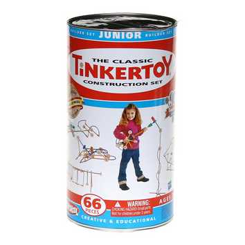 The Classic Tinker Toy Construction Set for Sale on Swap.com