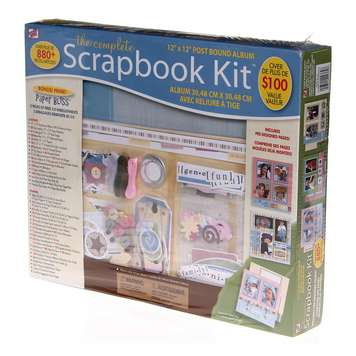 The Complete Scrapbook Kit for Sale on Swap.com