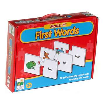 The Learning Journey Match It! First Words Puzzle for Sale on Swap.com