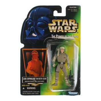 The Power of The Force: Luke Skywakler in Hoth Gear Action Figure for Sale on Swap.com
