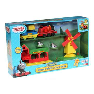 Thomas and Friends - James Visits the Farm Playset for Sale on Swap.com