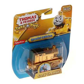 Thomas & Friends Take N Play Special Edition Gold Thomas for Sale on Swap.com