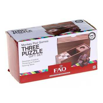 Three Puzzle Gift Set for Sale on Swap.com