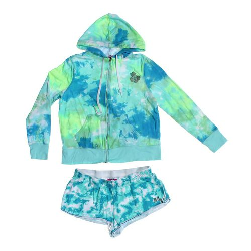 Hard Candy Tie-Dye Hoodie & Shorts Set in size JR 15 at up to 95% Off - Swap.com