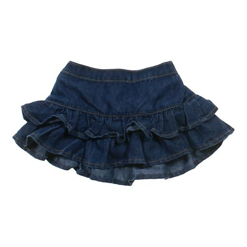 Okie Dokie Tiered Denim Skort in size 12 mo at up to 95% Off - Swap.com