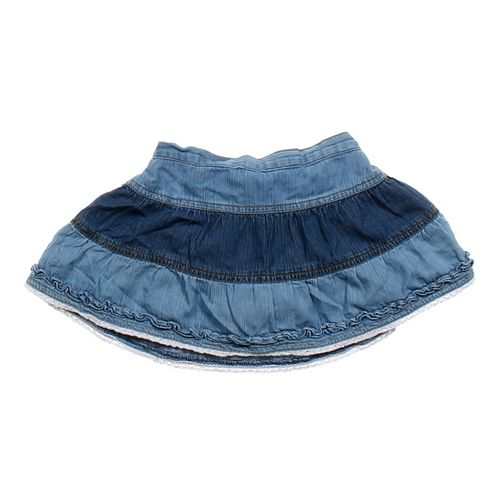 The Children's Place Tiered Denim Skort in size 4/4T at up to 95% Off - Swap.com