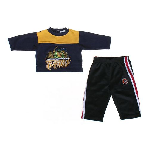 Kids Headquarters TMNT Sweatshirt & Athletic Pants in size 12 mo at up to 95% Off - Swap.com