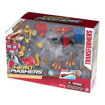 Transformers Hero Mashers Bumblebee & Strafe Mash Pack for Sale on Swap.com