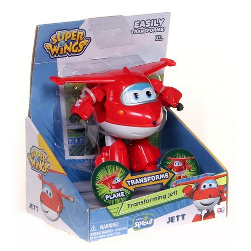 Super Wings Transforming Jett at up to 95% Off - Swap.com