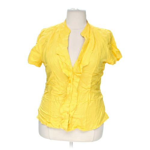 Ashley Stewart Trendy Button-up Shirt in size 12 at up to 95% Off - Swap.com