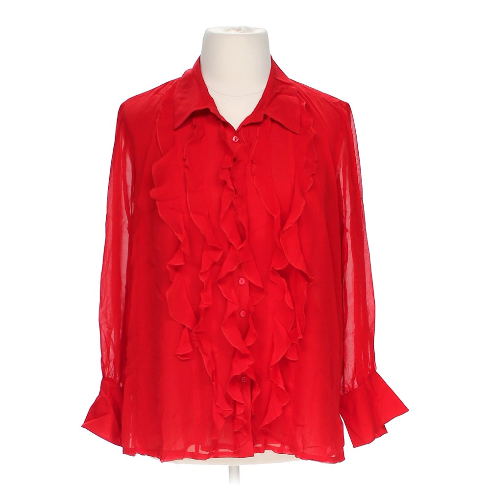 Linea trendy button up shirt online consignment for Polyester button up shirt