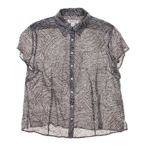 Coldwater Creek Trendy Button-up Shirt in size L at up to 95% Off - Swap.com
