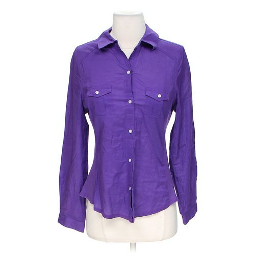 Old Navy Trendy Button-up Shirt in size S at up to 95% Off - Swap.com