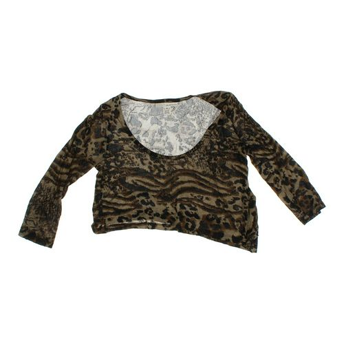 Derek Heart Trendy Cropped Shirt in size JR 7 at up to 95% Off - Swap.com