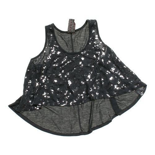 Wallpapher Trendy Embellished Tank Top in size JR 0 at up to 95% Off - Swap.com