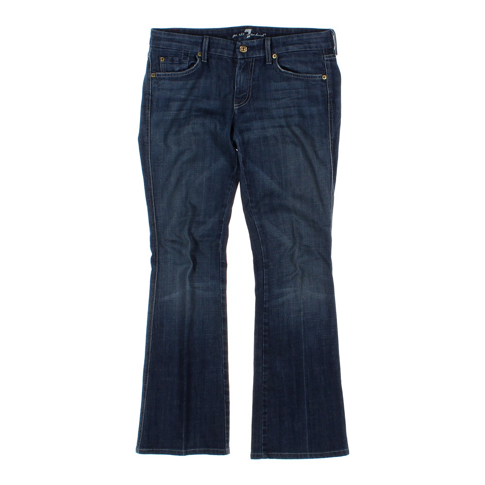7 for all mankind trendy jeans in size 8 at up to 95 off. Black Bedroom Furniture Sets. Home Design Ideas