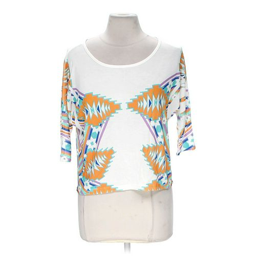 Body Central Trendy Knit Shirt in size M at up to 95% Off - Swap.com