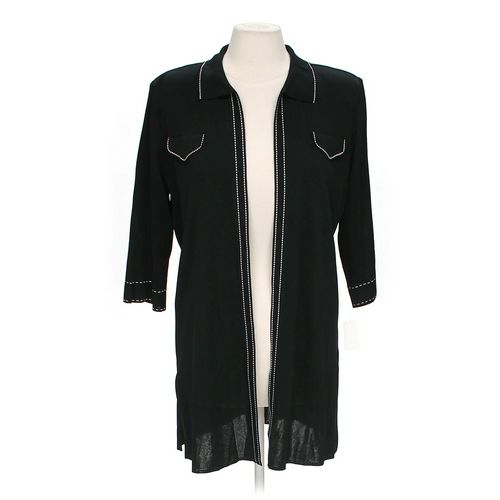Ming Wang Trendy Open Front Cardigan in size L at up to 95% Off - Swap.com