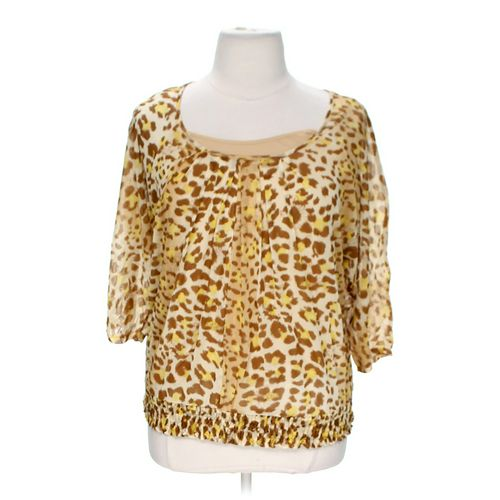 Apt. 9 Trendy Patterned Blouse in size 0 at up to 95% Off - Swap.com