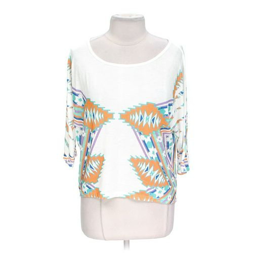 Body Central Trendy Patterned Shirt in size XL at up to 95% Off - Swap.com
