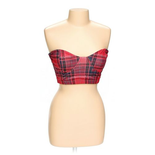 Body Central Trendy Plaid Cropped Tube Top in size L at up to 95% Off - Swap.com