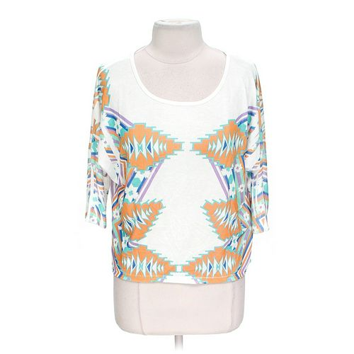 Body Central Trendy Shirt in size L at up to 95% Off - Swap.com
