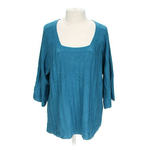 Needle Works Trendy Sweater in size 2X at up to 95% Off - Swap.com