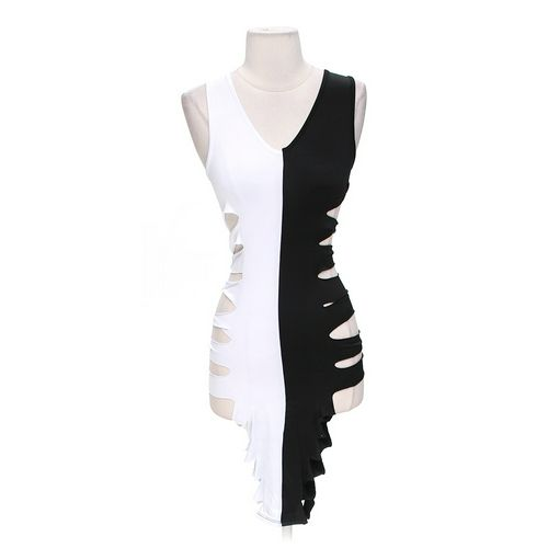 Body Central Trendy Two Tone Dress in size S at up to 95% Off - Swap.com