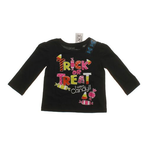 """The Children's Place """"Trick Or Treat"""" Shirt in size 9 mo at up to 95% Off - Swap.com"""