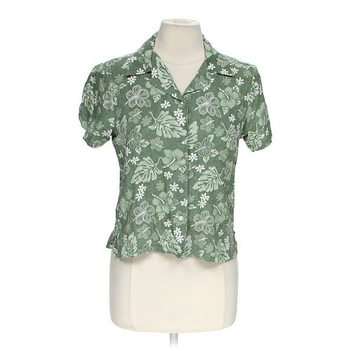 Aqua Blues Tropical Button-up Shirt in size M at up to 95% Off - Swap.com